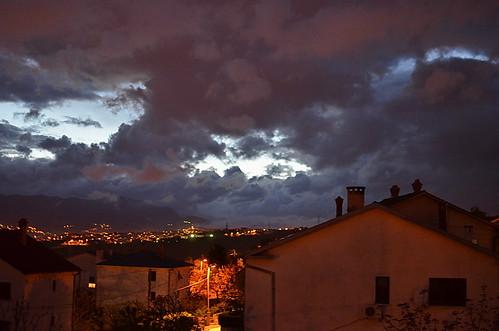 clouds croatia rijeka kvarner