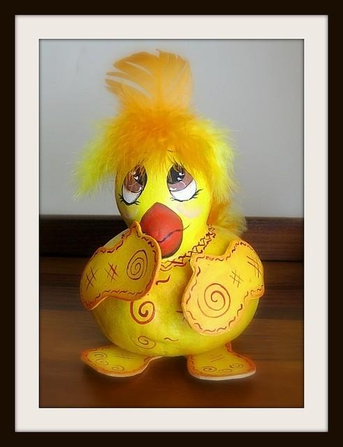 Pintainho cabacinha - gourd chick