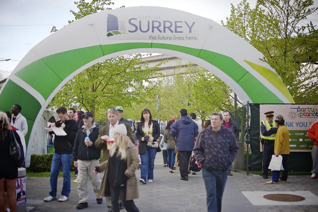 Surrey Party For The Planet 2012