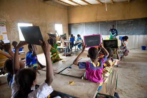 More than 25,000 at-risk pre-school and elementary students in Senegal will benefit from a new daily lunch initiative supported by the U.S. Department of Agriculture and implemented by the nonprofit Counterpart International.