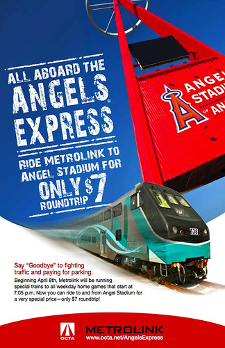 Metrolink Angels Express promotion