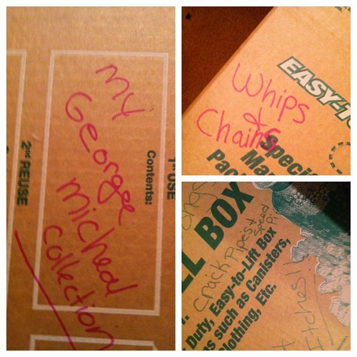 Inappropriate box labeling
