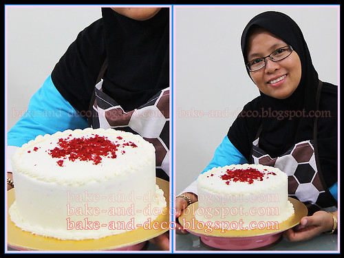 Red Velvet Cake (Fully Hands On) ~ 3 April 2012