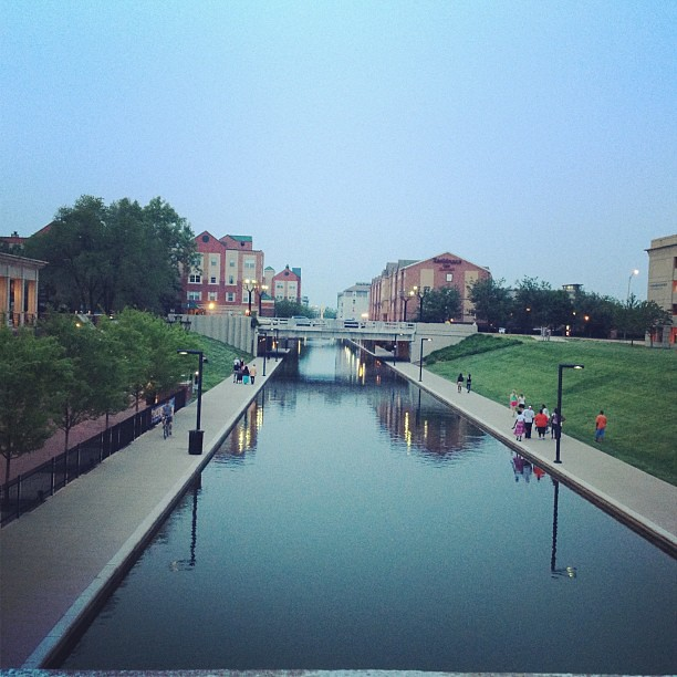 Canal run.