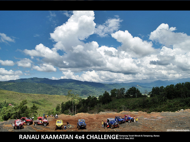 Ranau Kaamatan 4x4 Challenge 2012