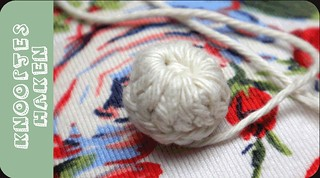 Tutorial crocheted button