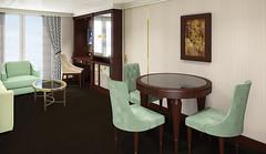 Seven Seas Navigator - Grand Suite Rendering 2