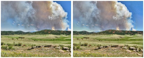 colorado highpark wildfire