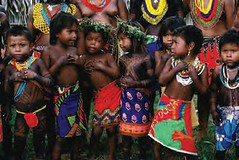 Embera and Wuoanaan Indian Children