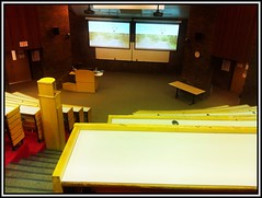 All set up for my 8:30 presentation at #oame2012