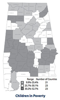 Alabama child poverty