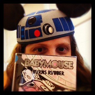 This IS the mouse you're looking for! Vote #babymouse4prez