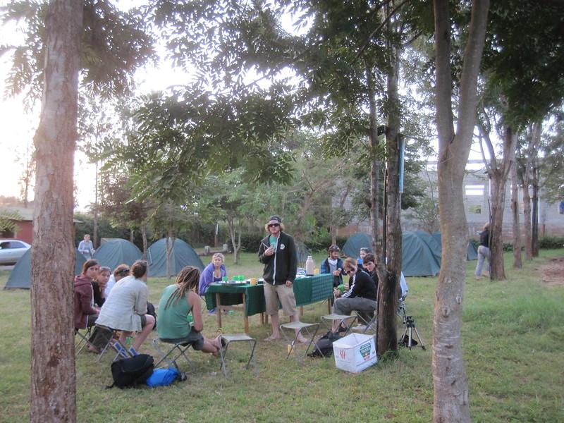 Camp Dinner Africa