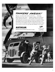Autocar Truck Ads 1942-48,  William Campbell Artwork -- JUST THE ADS PLEASE