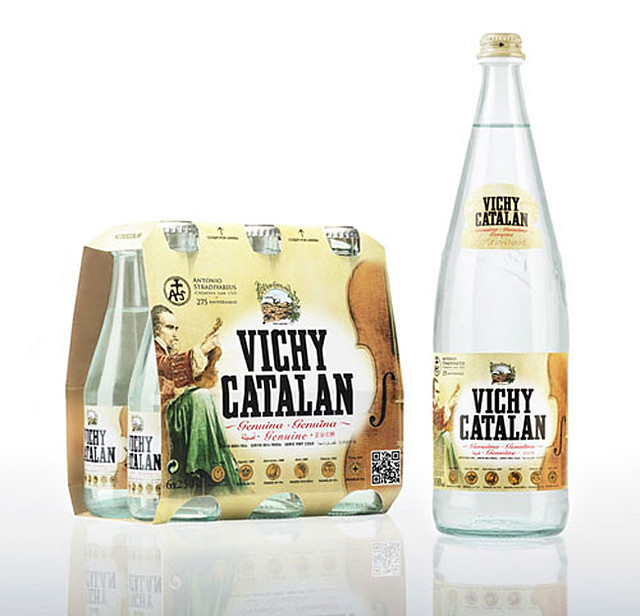 Vichy Catalán Stradivarius limited edition mineral water