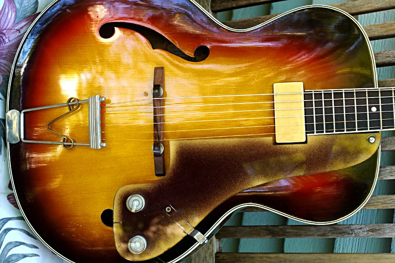 Vega D-26 Electric Archtop - or is it?