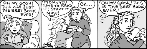 Home Spun comic strip #743