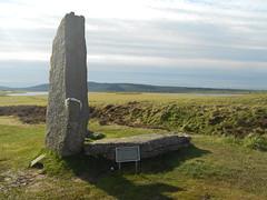 megalith, hill, monument, landscape, grave, monolith, rural area, rock,