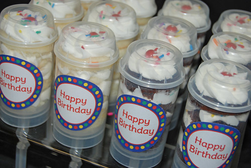Birthday Cupcake Push-up Pops