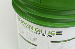 Independent lab tests prove that using Green Glue Noiseproofing Compound dissipates up to 90 percent of noise. Unlike other soundproofing products, Green Glue Noiseproofing Compound is ideal for dissipating low frequency noise common with home entertainment and theater systems.