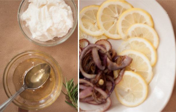 Easy Lemon Ricotta pizza recipe