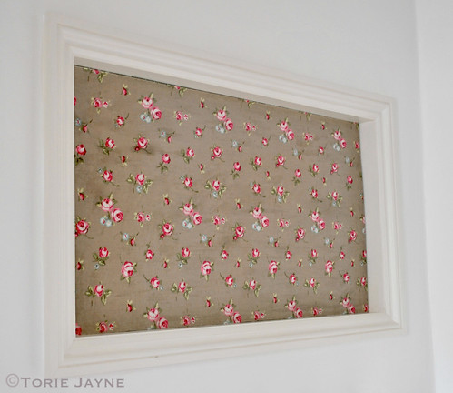 covered pinboard