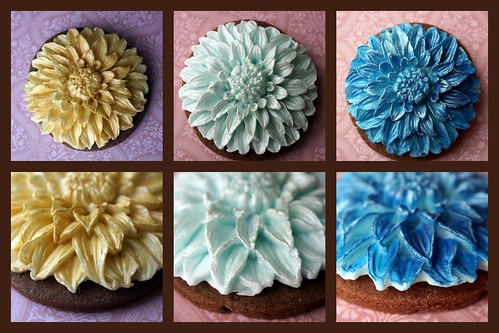 Dahlia Cookie Collage