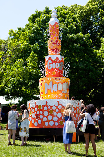 The Googa Mooga cake sculpture