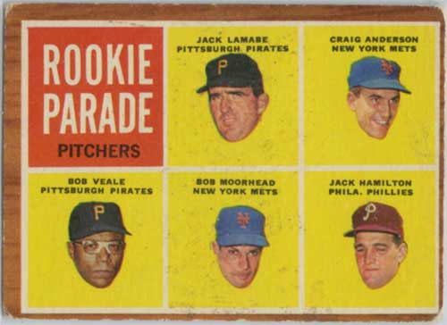 1962 Topps Rookie Parade