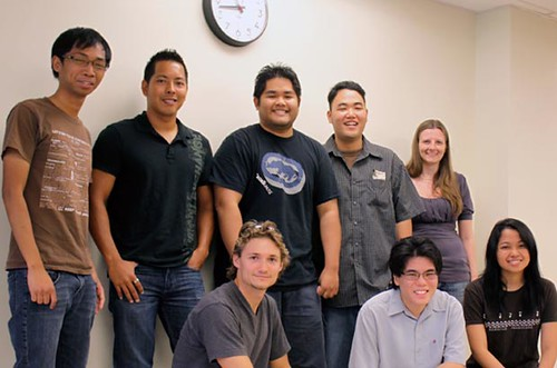 <p>Graduates from UH Manoa's information and computer science department.</p>