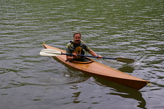 boats and boating--equipment and supplies(0.0), canoe sprint(0.0), canoeing(0.0), canoe(1.0), vehicle(1.0), watercraft rowing(1.0), kayak(1.0), boating(1.0), kayaking(1.0), watercraft(1.0), sea kayak(1.0), boat(1.0), paddle(1.0),