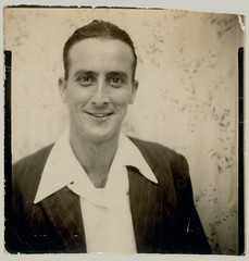 Photobooth Smiling Man