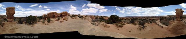 Devils Garden Escalante Monument Utah panorama
