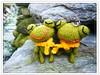 迷你情侶蛙(乙嬋訂作)