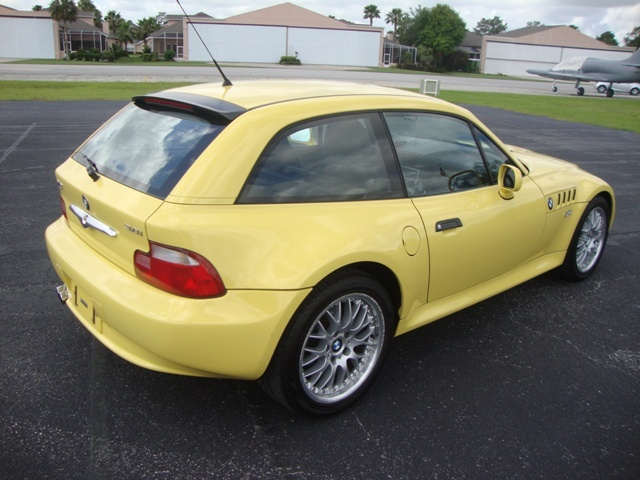 2001 Z3 Coupe | Dakar Yellow | Black | VIN WBACK73431LJ15266