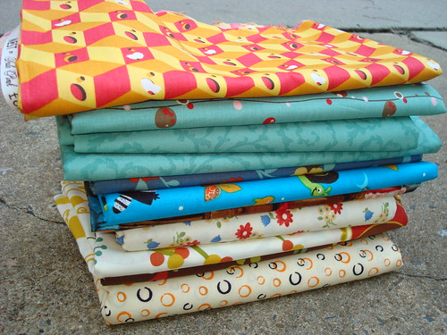 Fabric Shopping by gnomemade quilts