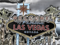 * Las Vegas Sign (Chrome Effect) *