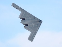 airline(0.0), lockheed martin f-22 raptor(0.0), fighter aircraft(0.0), aviation(1.0), military aircraft(1.0), airplane(1.0), wing(1.0), vehicle(1.0), northrop grumman b-2 spirit(1.0), jet aircraft(1.0), flight(1.0), air force(1.0),