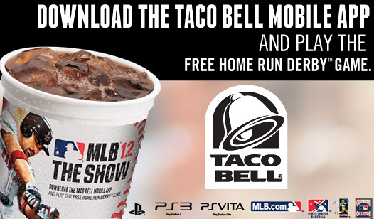 MLB 12 The Show Taco Bell Mobile App