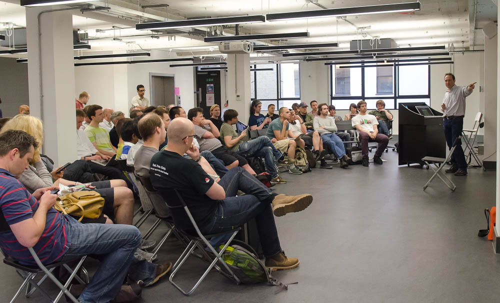 Julian Browne at London MongoDB User Group May 2012 Meetup