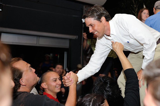 Beto O'Rourke Primary Victory
