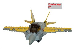 Iranian mig-29  Bumblebee by Red Panther 1