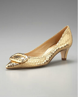Kate Spade New York Simon Snake-embossed Pump NM REtail $298 on sale for $199