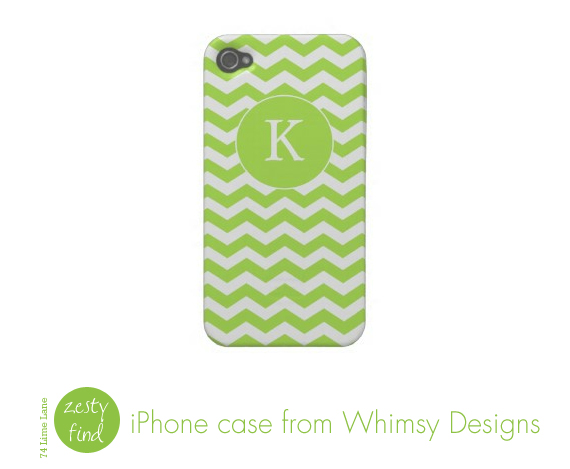 {zesty find} iPhone case from Whimsy Designs