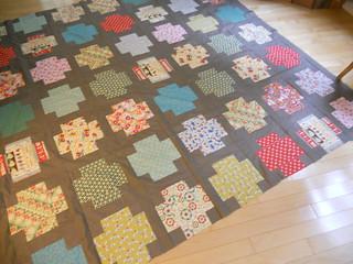 Greek Cross quilt a long - still not done