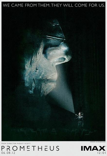 Prometheus - Imax Poster