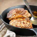 Pear and Rye Pancakes