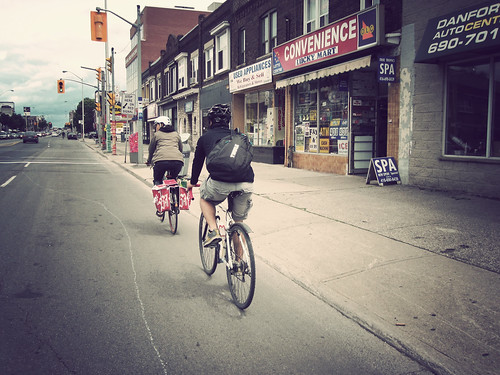 Danforth Bike Line - project for Art of the Danforth