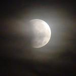 Eclipse Parcial de Luna, Ocotal, Guancaste, Costa Rica