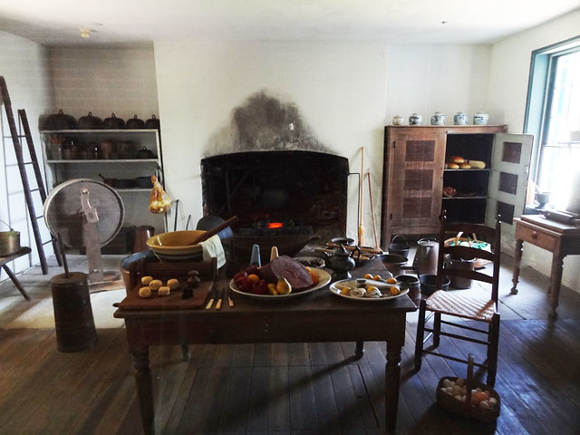Hermitage plantation house cooking room